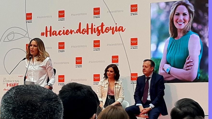Silvia Intxaurrondo pronuncia su discurso al ser homenajeada