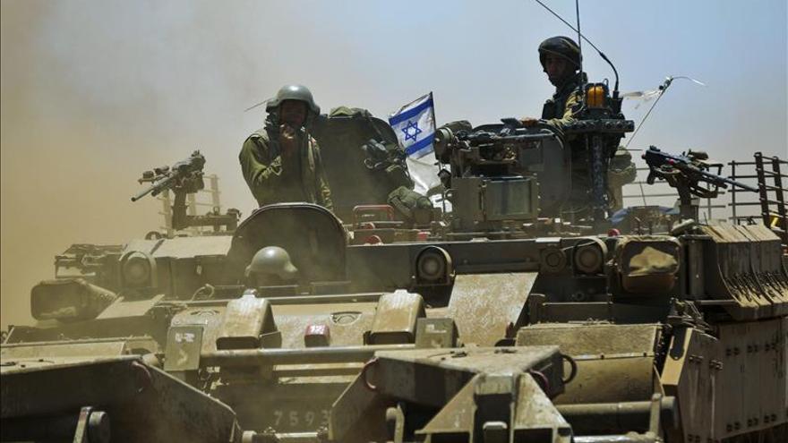 Imagen de archivo de unos soldados israelíes que participan en unas maniobras.