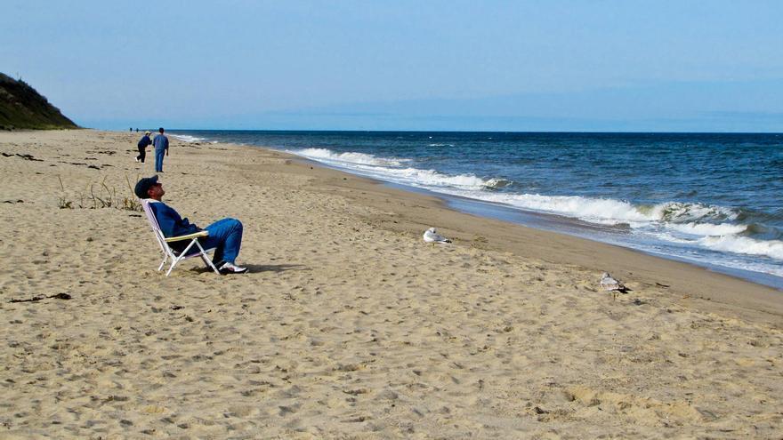 Las playas kilométricas son una de las señas de identidad de Cape Cod.