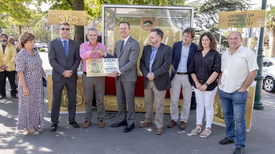 Suances gana el 'Contenedor de Oro' por ser el municipio que más ha mejorado su reciclaje de vidrio en 2019