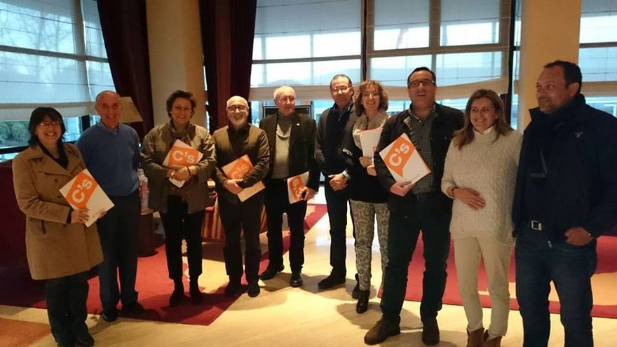 Coordinadores locales de Ciudadanos-Galicia