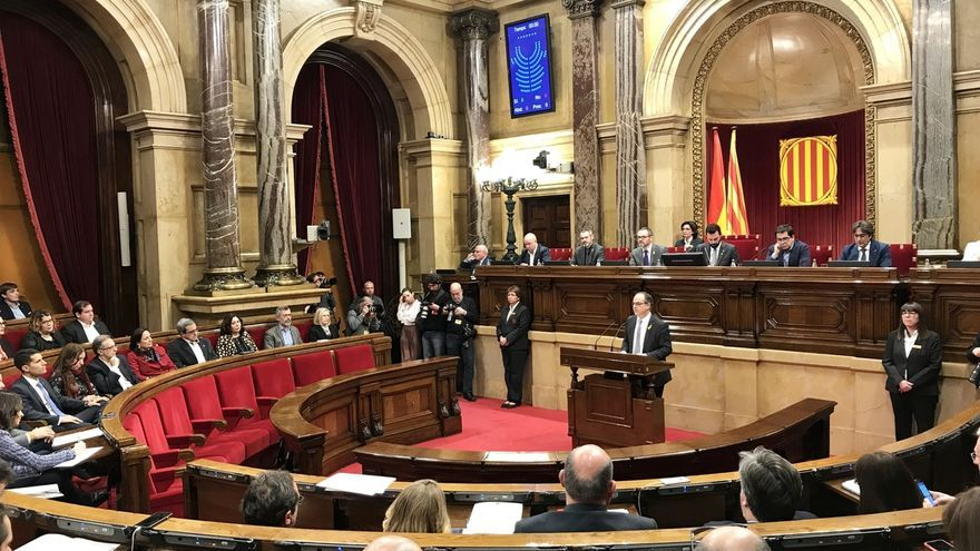 """Turull se compromete a """"revertir los daños del 155"""" y a desplegar la hacienda catalana"""