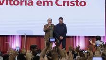 Bolsonaro participa en un culto evangélico en el primer acto público tras los comicios