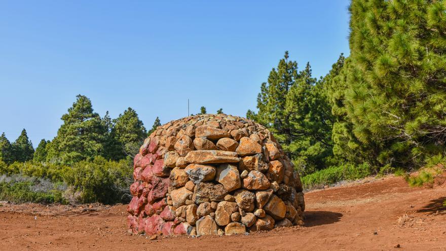 Las piedras se disponen en círculos.