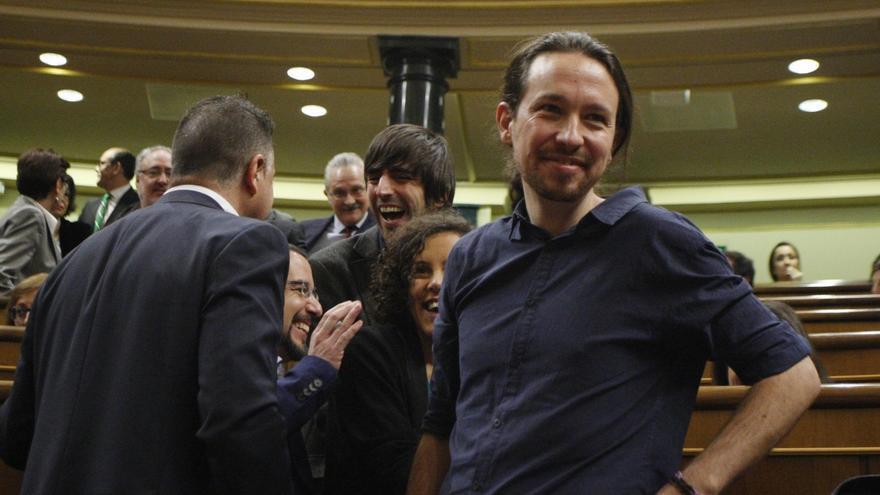 """Pablo Iglesias, """"muy decepcionado"""" con Pedro Sánchez, dice que el acuerdo con el PSOE está más lejos"""