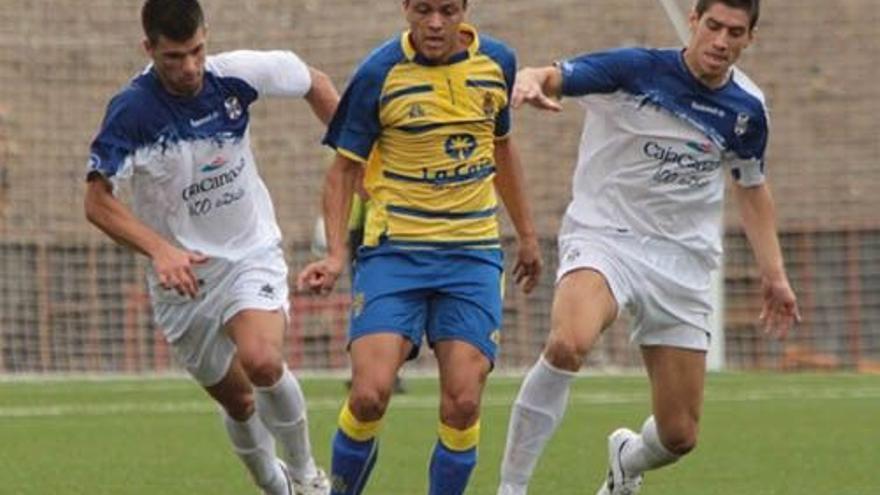 Tras la lesión de Vitolo, Dailos estuvo a un paso de estar en el primer equipo