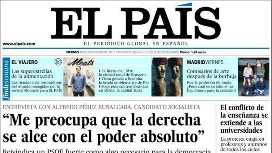 De las portadas del día (18/11/2011) #7