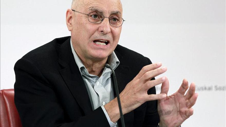 """El PSE rechaza el Plan de Paz del Gobierno Vasco """"profundamente equivocado"""""""