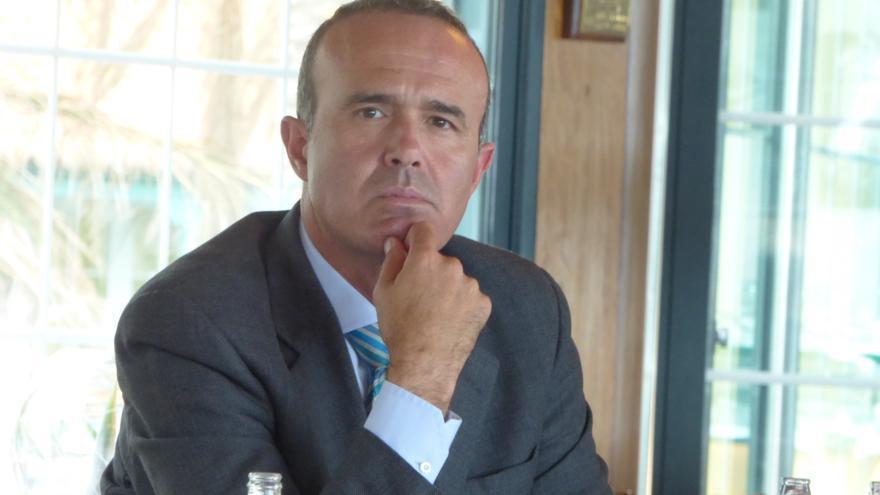 Raúl Camacho es consejero de Turismo del Cabildo de La Palma.