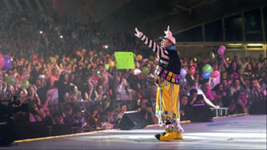 Imagen de archivo de una actuación de Los Bambones.