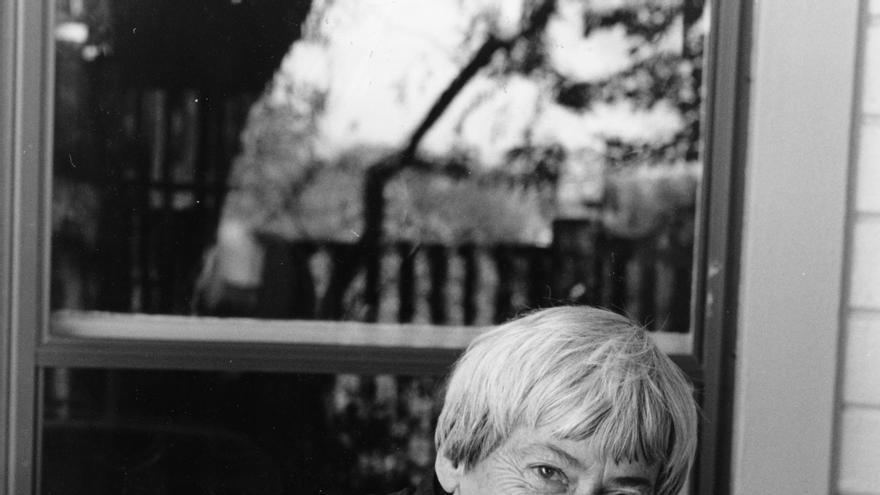 La fallecida Ursula K. Le Guin, una autora referencial de la literatura fantástica del siglo XX