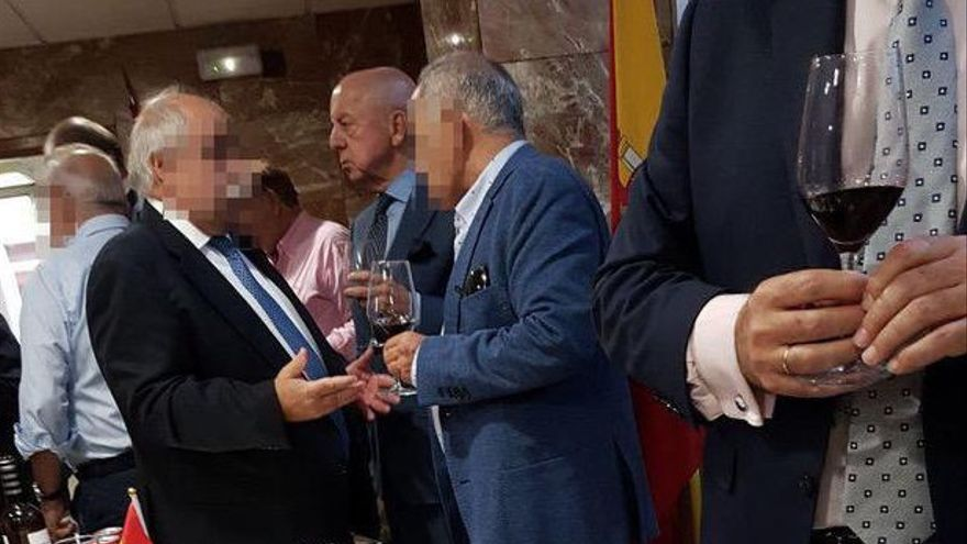 Antonio González Pacheco, Billy el Niño, en una comisaría madrileña
