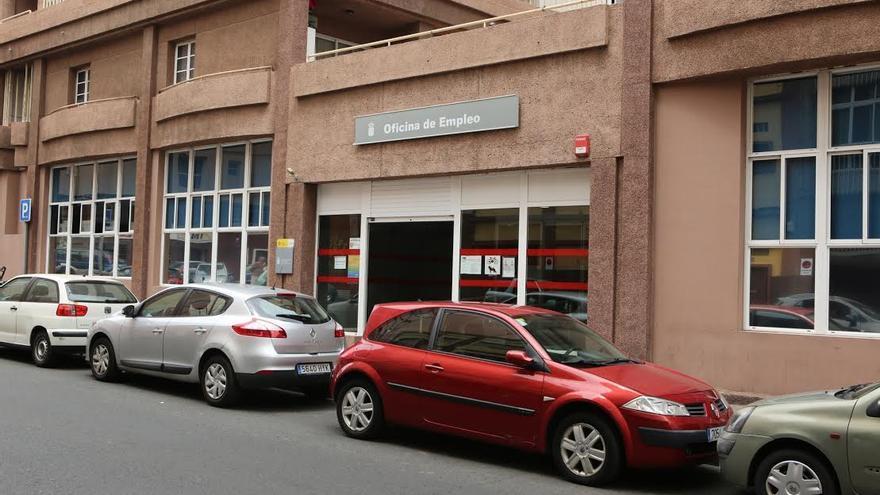 Oficina de empleo en Las Palmas de Gran Canaria.