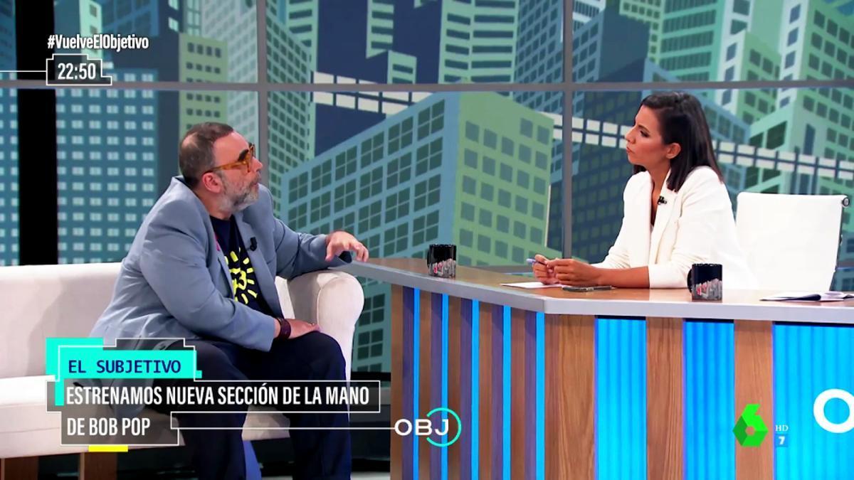 Bob Pop y Ana Pastor en 'El Objetivo'