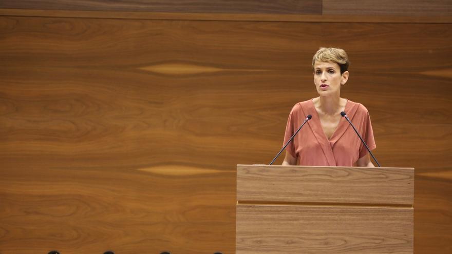 María Chivite estrena redes sociales como presidenta de Navarra