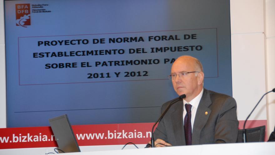 """Iruarrizaga dice que la Diputación """"ni retira ni no retira"""" su oferta sobre Edesa pero hará """"lo que esté en su mano"""""""