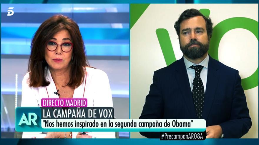 """Ana Rosa Quintana e Iván Espinosa de Los Monteros en """"El programa de AR"""""""