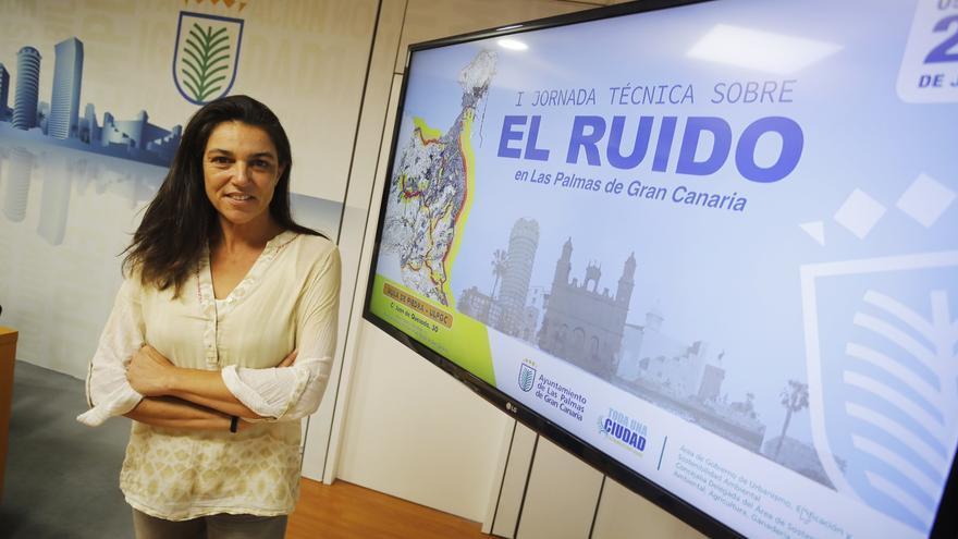 La concejala de Sostenibilidad ambiental, Belén Hidalgo.