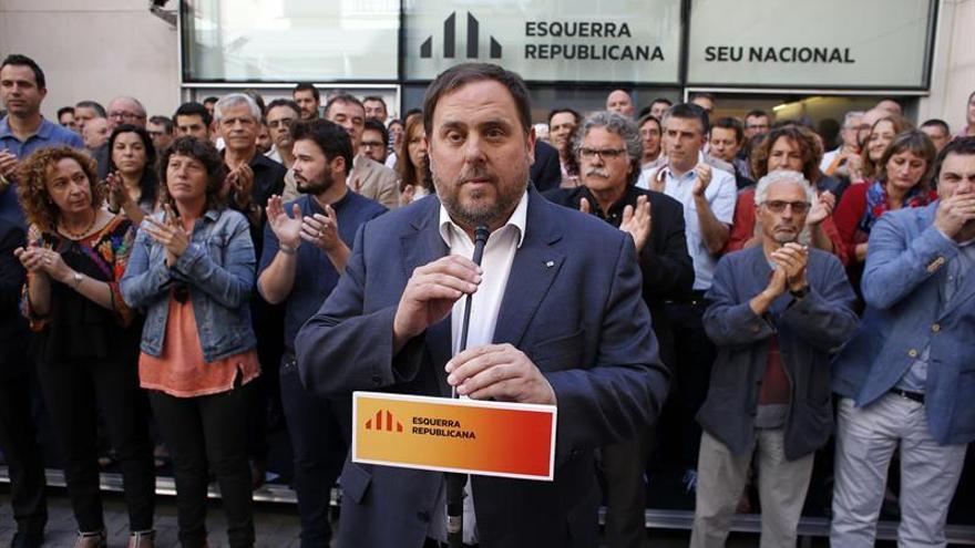 Junqueras pide avanzar hacia la independencia sin esperar cambios en el Estado