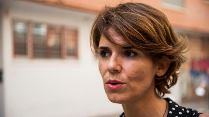 Teresa Fuentes, secretaria de la Asociación Amigos de Ritsona / CARLOS TRENOR