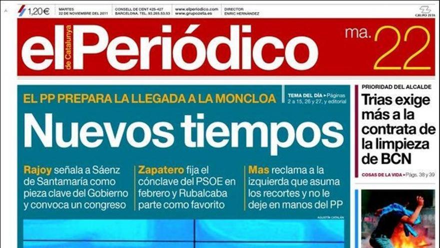 De las portadas del día (22/11/2011) #11