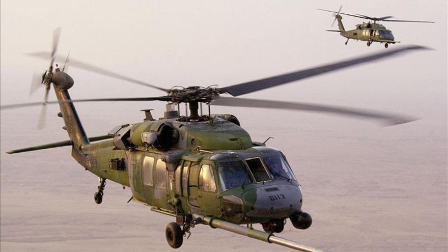 Cuatro muertos al estrellarse en Inglaterra un helicóptero militar de EEUU