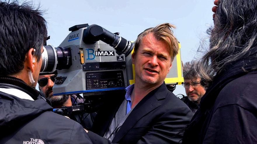 """Christopher Nolan, durante el rodaje de """"Dunkerque"""""""