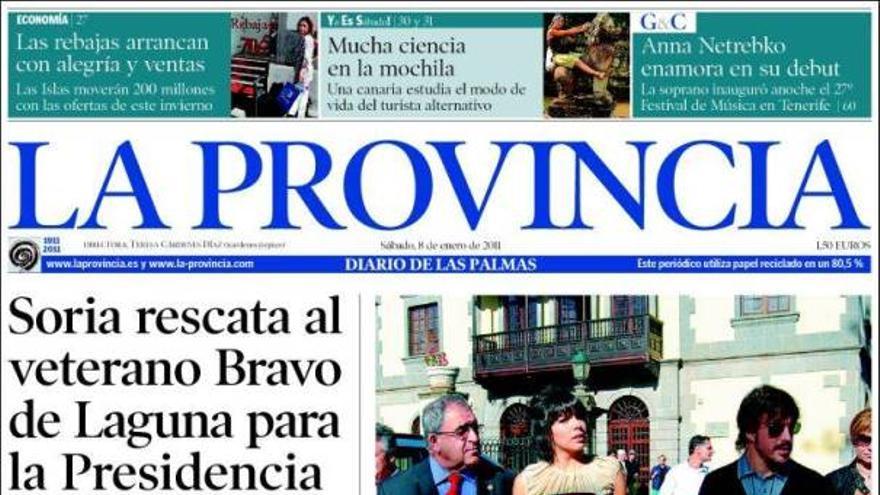 De las portadas del día (08/01/2011) #1