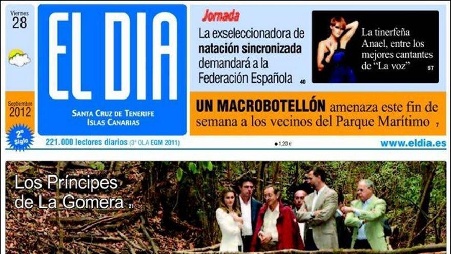 De las portadas del día (29/09/2012) #5
