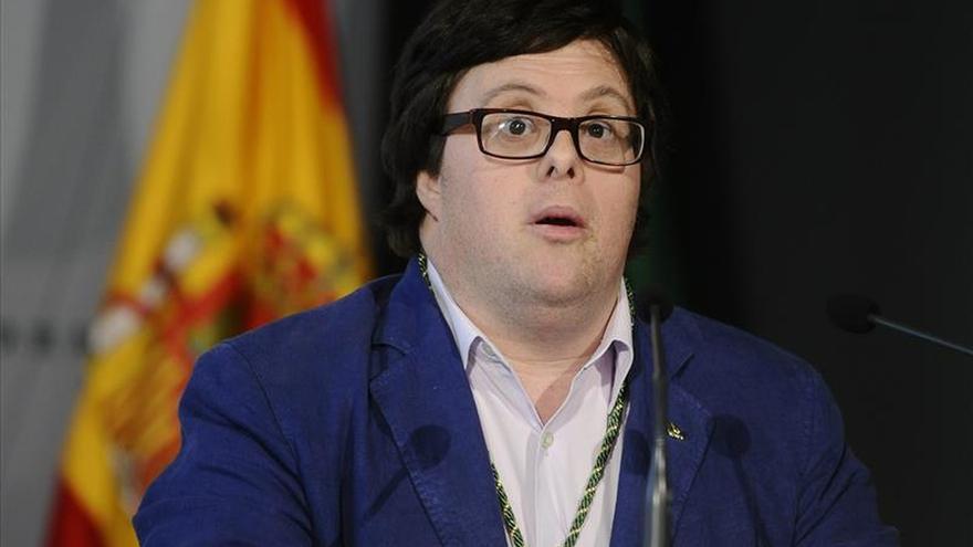 Actor con síndrome de Down defiende la inclusión laboral de los discapacitados