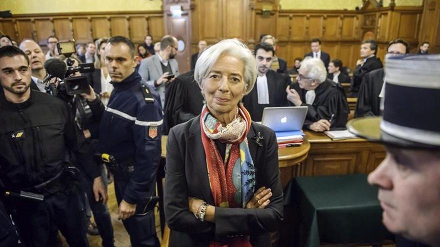 Christine Lagarde, condenada por negligencia en Francia pero dispensada de pena