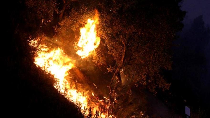 Los trágicos incendios en Girona disparan los informativos de la TV catalana