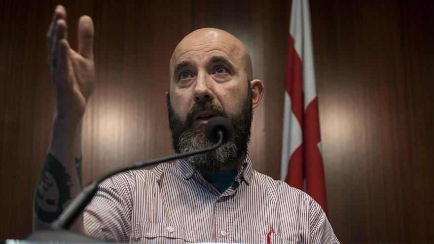 El regidor de la CUP, Josep Garganté