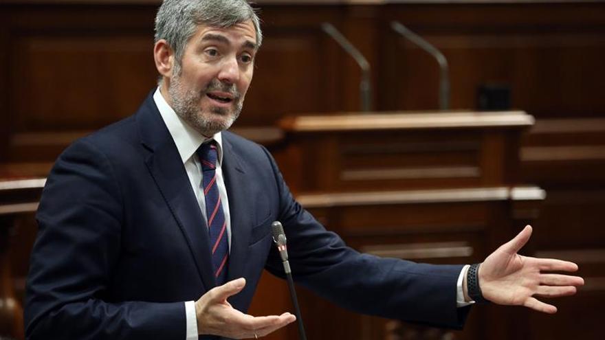 El presidente del Gobierno de Canarias, Fernando Clavijo.