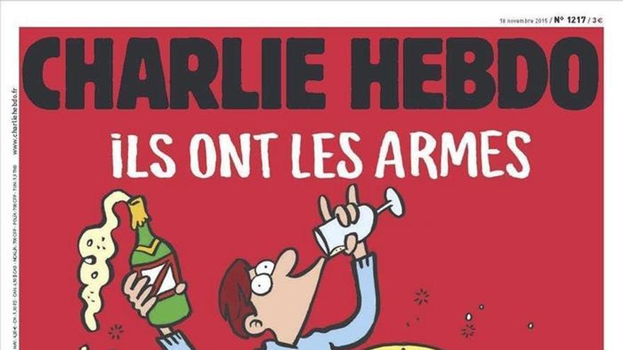"""Charlie Hebdo: """"Ellos tienen armas. Que se jodan, nosotros tenemos champán"""""""