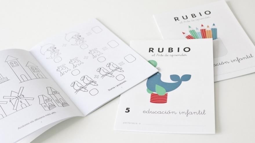 Imagen de unos cuadernos de la editorial Rubio. | Cuadernos Rubio.