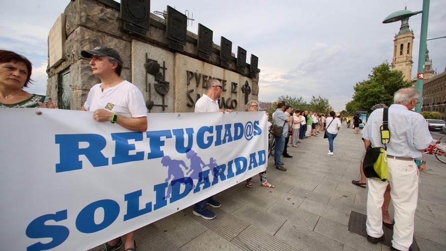 Acto del Día Mundial de las Personas Refugiadas, el pasado 20 de junio.