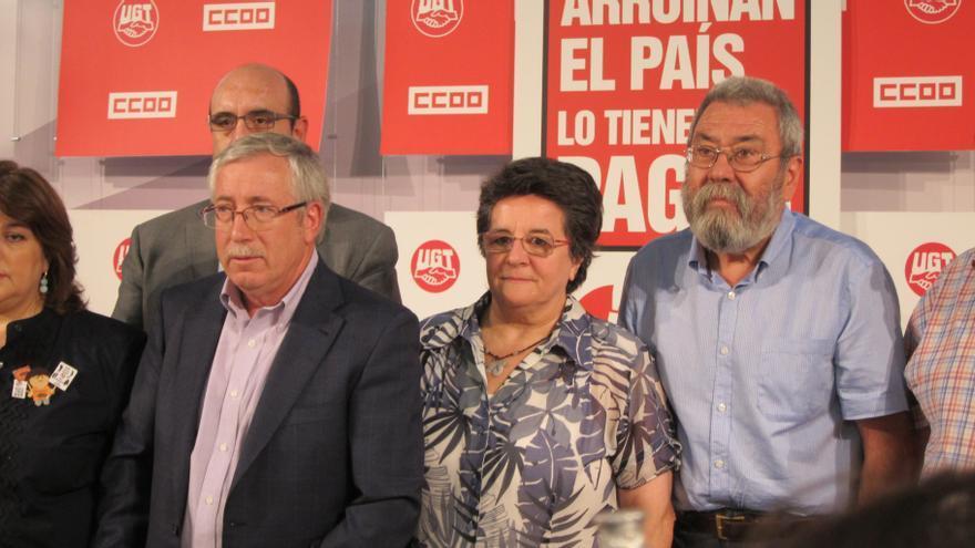 CC.OO y UGT aseguran que Rajoy ya está negociando las condiciones del rescate