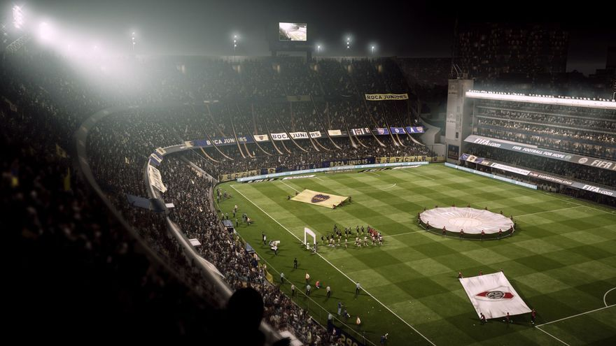 'La bombonera' en FIFA 18