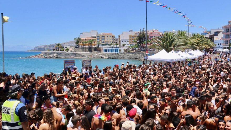 La fiesta del Agua de Arguineguín se suspende por incidentes