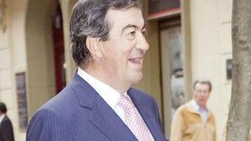 El ex vicepresidente del Gobierno y ministro de Fomento, Francisco Álvarez-Cascos. (EUROPA PRESS)