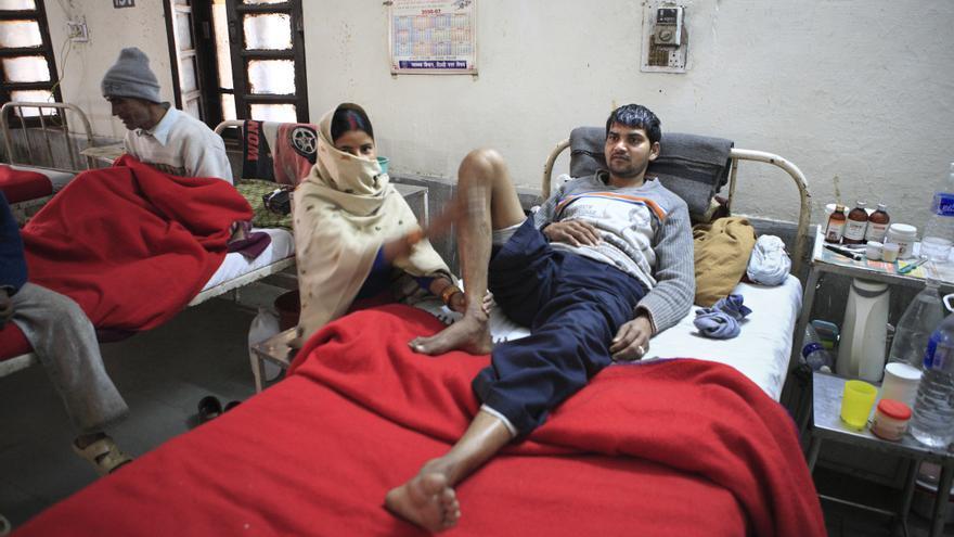 Los hospitales indios luchan contra la resistencia de las bacterias, que perjudican sobre todo a los recién nacidos.