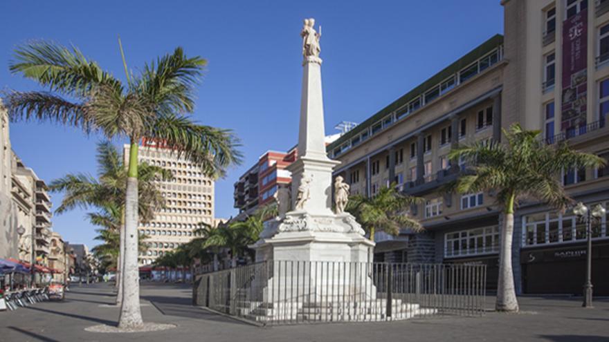 Plaza de la Candelaria, en Santa Cruz de Tenerife