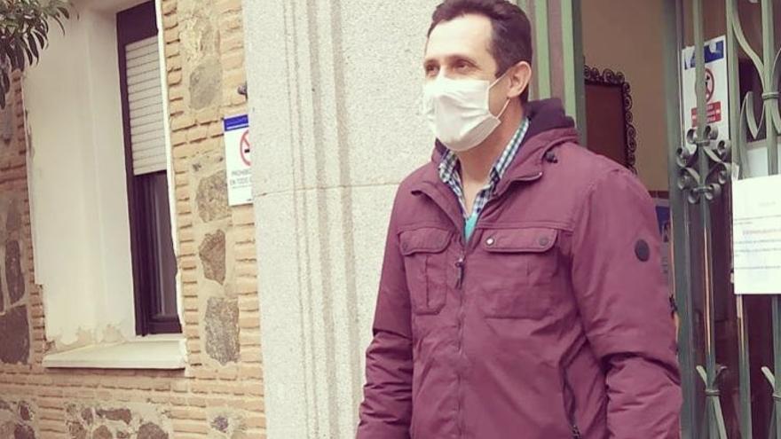 """El policía toledano que ha superado el coronavirus: """"Es duro, cruel, pero se puede salir adelante"""""""