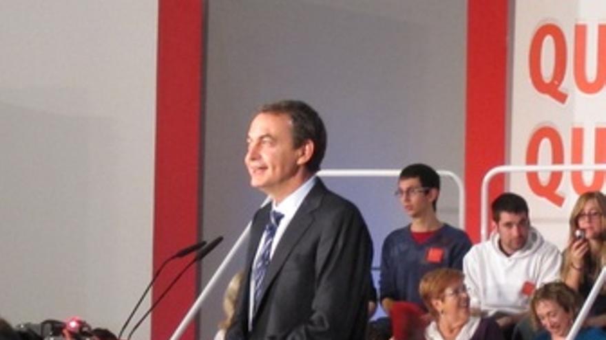 Zapatero En Un Mitin En Alicante