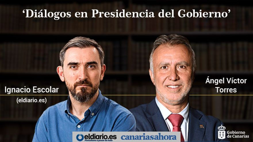 Diálogos con el presidente de Canarias