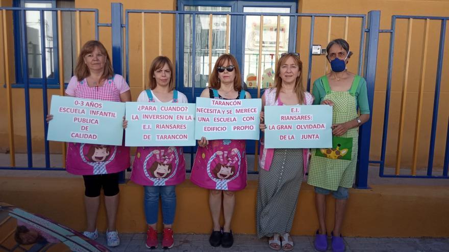 Movilizaciones escuelas infantiles en Cuenca