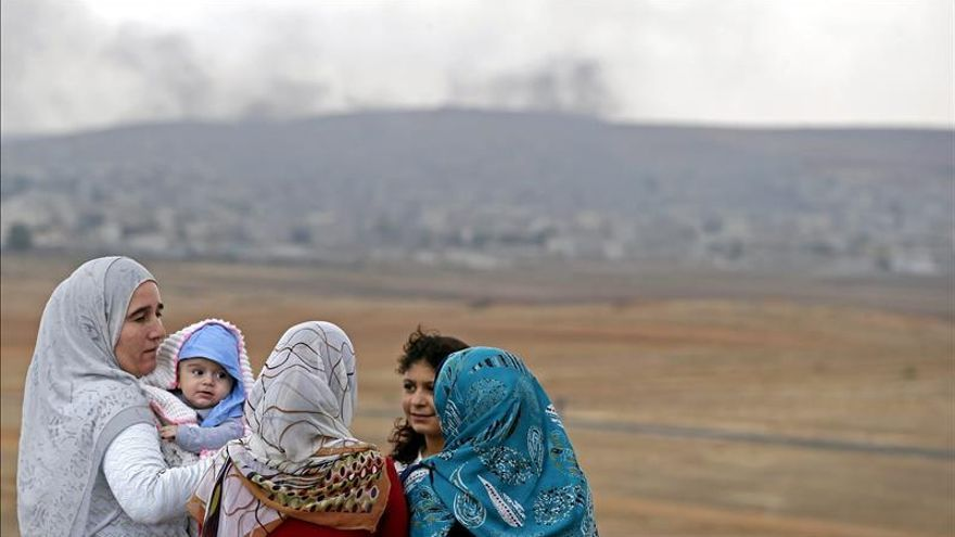 Los yihadistas retienen al menos a 80 sirias cautivas en el norte del país
