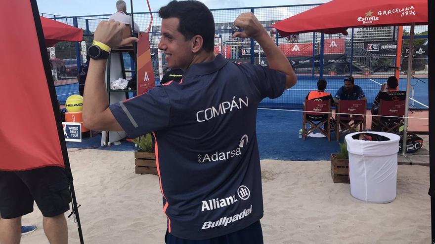 Paquito Navarro, más cerca de su sueño de ser número uno del mundo de padel