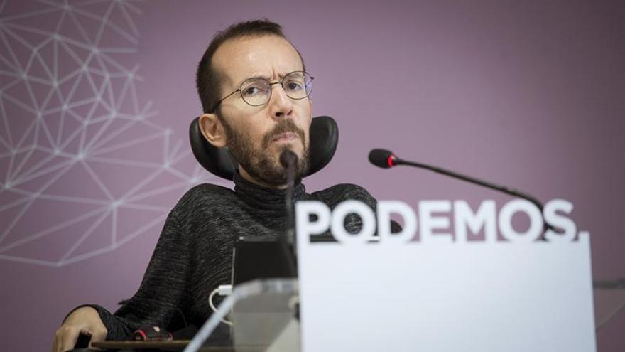 """Echenique representará a la dirección de Podemos en la asamblea de """"comunes"""""""
